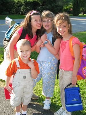 First Year - 2nd day - August 2003
